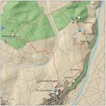 Karte Archäologischer Wanderweg