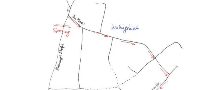 Straßensperrung in Hundersingen dauert an – neue Umleitungsstrecke